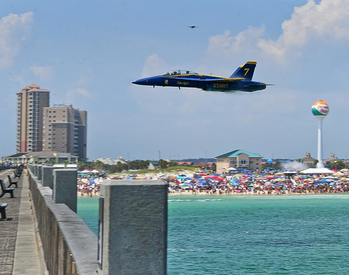 Pensacola Beach Air Show Blog Photo #6